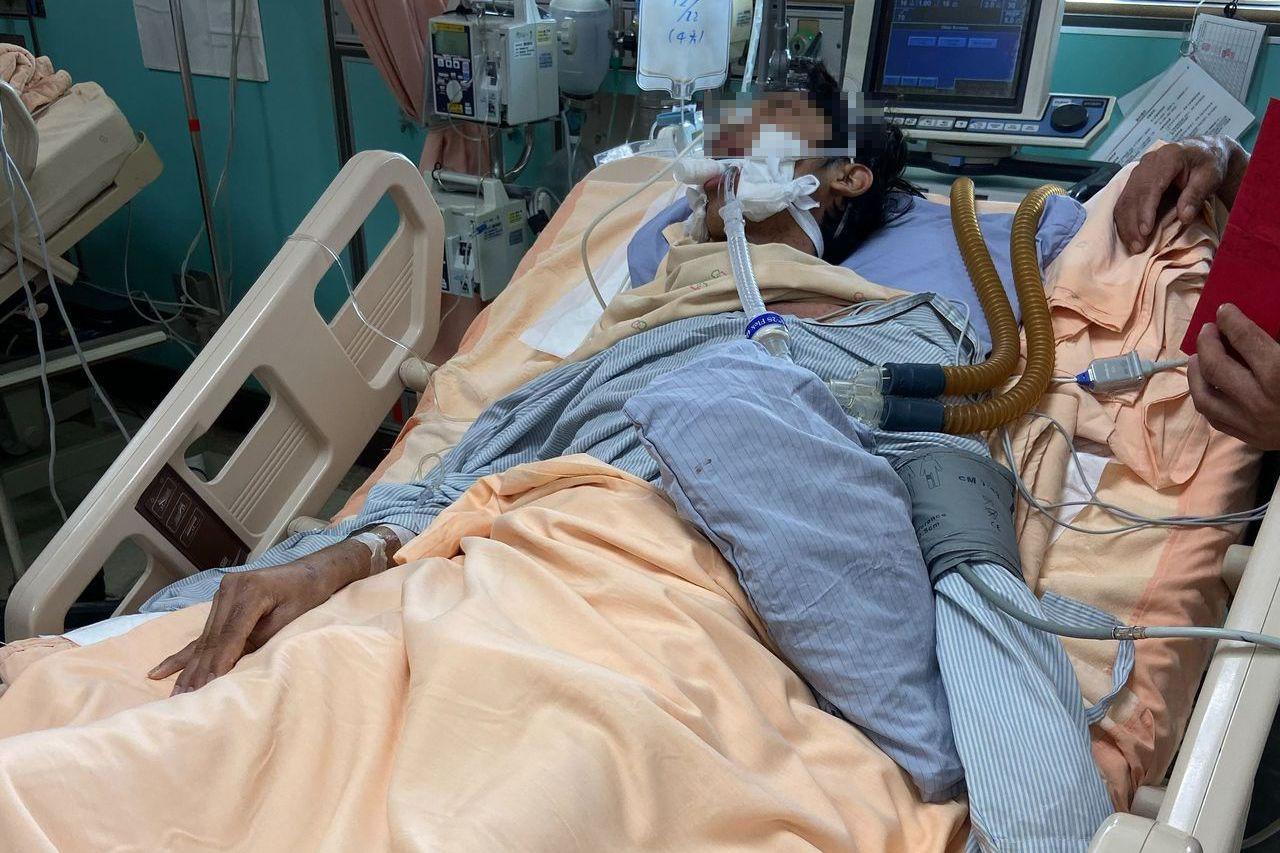 嘉義善心團體人士捐助重病移工 明搭機返鄉治療