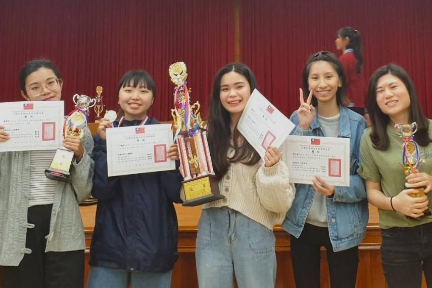 明新科大休閒系 全國芳療競賽獲「精油配方」組冠軍