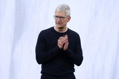 巴隆周刊:蘋果CEO庫克締造了這項美國企業史紀錄