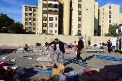 真主黨旅見好就收 美駐伊拉克使館示威平息
