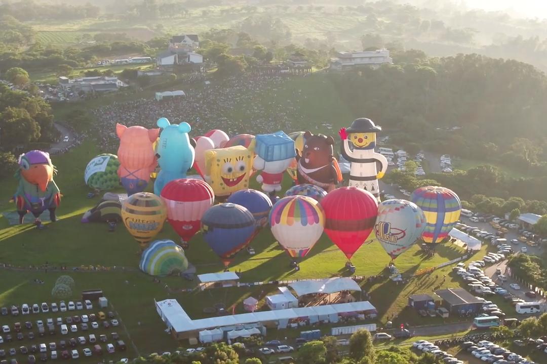 世界絕美熱氣球在台灣!2020台灣熱氣球嘉年華6月27日登場