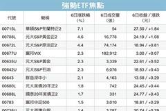 美伊緊張 避險ETF大漲