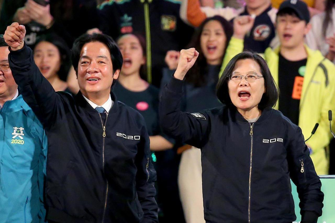 民進黨全國最高得票率在台南 蔡英文賴清德開出67.37%
