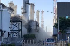 高雄林園信昌公司火警釀毒性汙染物逸散 環保局開罰