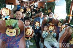 春節免費公車!新竹縣推5路線 皮皮獅彩繪車超吸睛