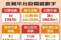 金豬年 股民平均賺64.5萬