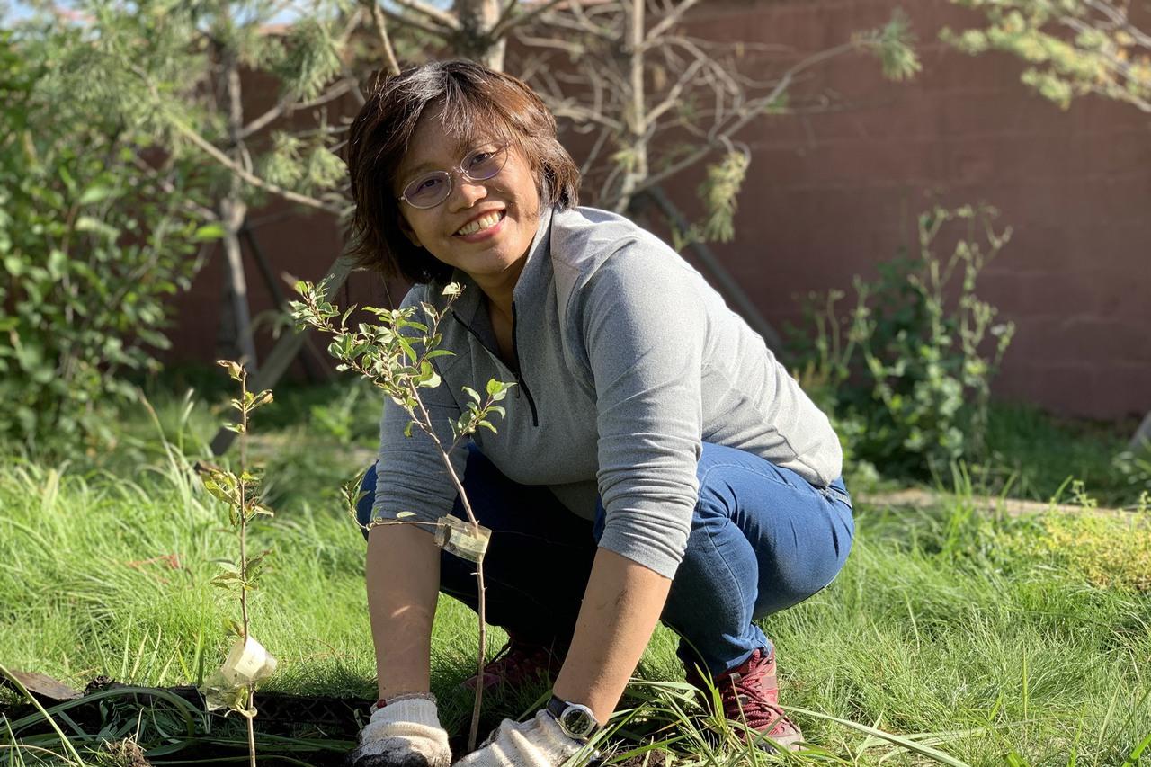 「種樹女王」程禮怡種到國外去 目標10億棵樹