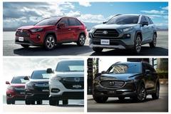 日本2019休旅銷售排名洗牌!RAV4、HR-V、CX-8等車皆上榜