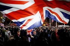 影/等了1317天!英國正式脫歐 各地倒數歡慶