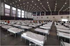 武漢連夜蓋完3所方艙醫院 院內畫面曝光網驚呼:根本集中營