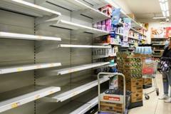 武漢肺炎疫情 觸發香港出現「集體歇斯底里」搶購潮