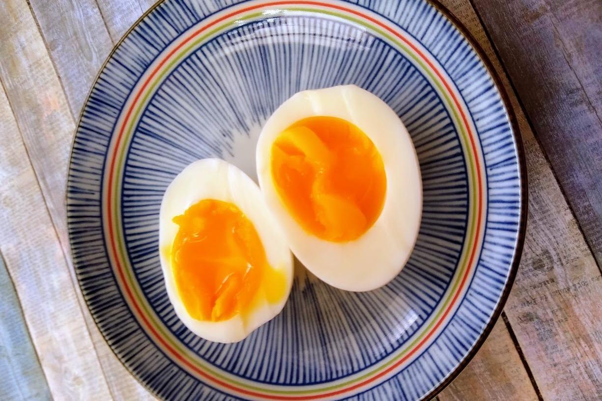 食譜/15分鐘搞定溏心蛋,用大同電鍋蒸出來