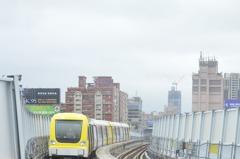 新北捷運環狀線通車第一周!39萬3千人次搭乘