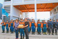 增救援力 消防菁英受國際訓練