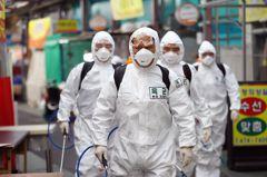 中國以外全球感染新冠肺炎超過一萬人 南韓病患逾半