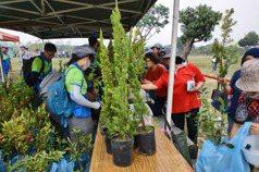 植樹啟動 屏東林管處要送3700棵樹苗
