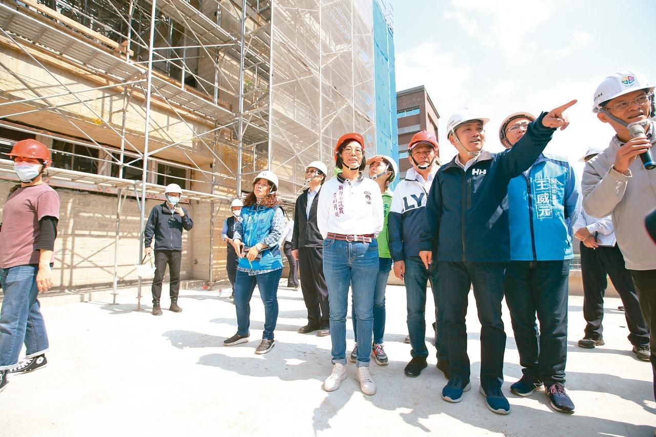 蘆洲警局新大樓 明年3月完工
