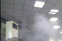因應疫情 新竹肉品市場噴霧消毒、設紅外線熱像儀