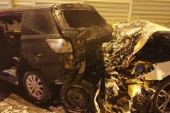 影/沙鹿多輛汽機車相撞起火 1死6人傷