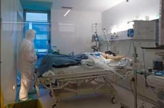 西班牙新冠肺炎新增757死 累計1萬4555不治