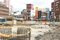 花蓮市熱鬧5路口 施工改善