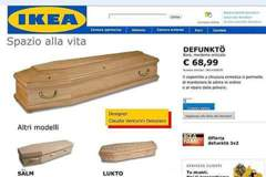 網傳 IKEA推「自行組裝棺材」 台灣IKEA澄清:此為假消息