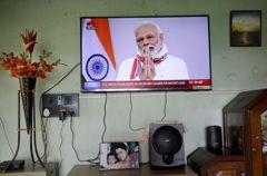 印度總理莫迪宣布 全國封鎖期限延長至5月3日