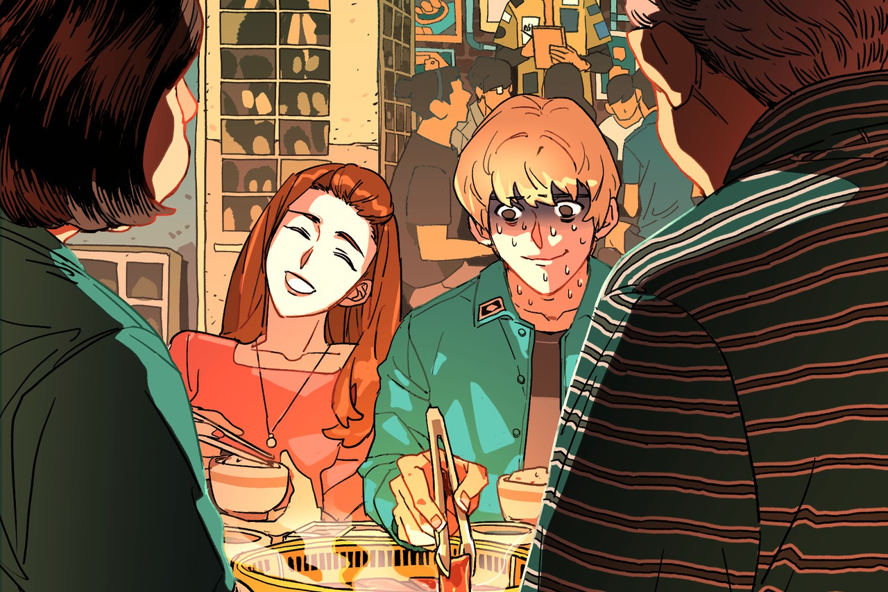 【青春名人堂】HOM/第一次和女友父母吃飯的柏安