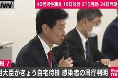 東京確診數連12日破百 防疫擔當大臣也自主隔離
