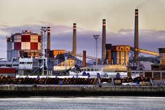 大陸Q1規模以上工業企業利潤年降36.7%
