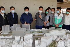 影/林佳龍肯定新竹大車站計畫 林智堅期待任內動工