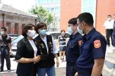 台西警局尋獲自殺民眾、破獲竊盜案 張麗善頒獎鼓勵