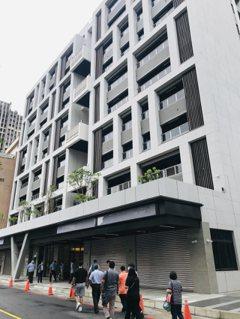 木柵社宅亮相 年底入住 月租1至2萬