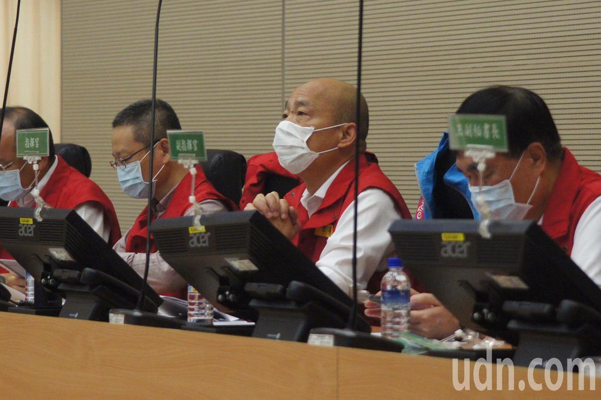 高雄豪雨成災 韓國瑜要求各區公所提報告
