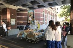馬偕醫院衛教室火警 疑電線短路疏散26人