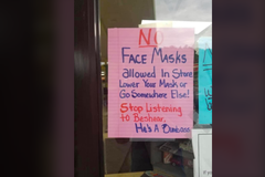 自由價更高?美商店封殺戴口罩顧客 掀起文化之戰