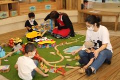 新北玩具窩重新開放首日 18組家長入館