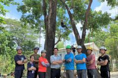 影/攀樹運動夯 台南市新化林場推桃花心木攀樹趣體驗