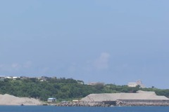 東海岸長濱漁港清淤堆沙 議員建議做滑沙場