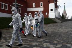 俄單日新增8987人染疫 全國逾51萬人確診