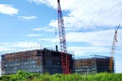 台東卑南溪口海灘蓋大樓? 其實是建修築海堤碼頭沉箱
