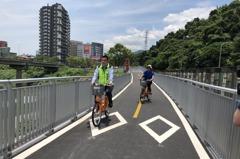 汐止自行車道打通往南港 休閒也兼通勤