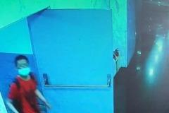 三重湯城疑有變態偷拍狂 監視器錄到紅衣狼