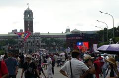 凱道挺韓活動人潮不如預期 挺韓團體:不是幫韓討公道