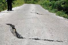 那瑪夏高134線 3年未修路