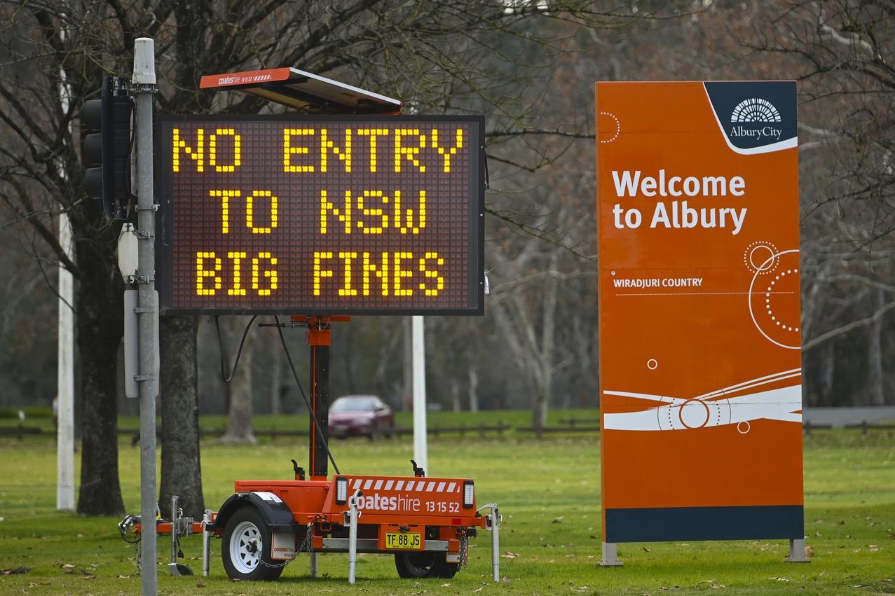 澳洲防疫關兩州邊境 違法穿越恐遭罰款或坐牢