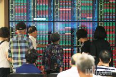 雙王領攻、台股收漲22.5點 三大法人賣超61.55億