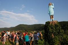 美國國慶當晚...第一夫人雕像在祖國斯洛維尼亞被縱火