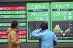 日本經濟萎縮幅度創紀錄 日股收黑
