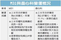 M31下半年業績看增